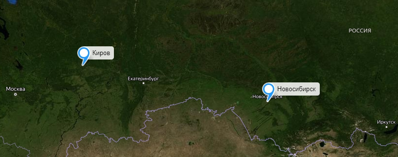 Грузоперевозки Новосибирск-Киров