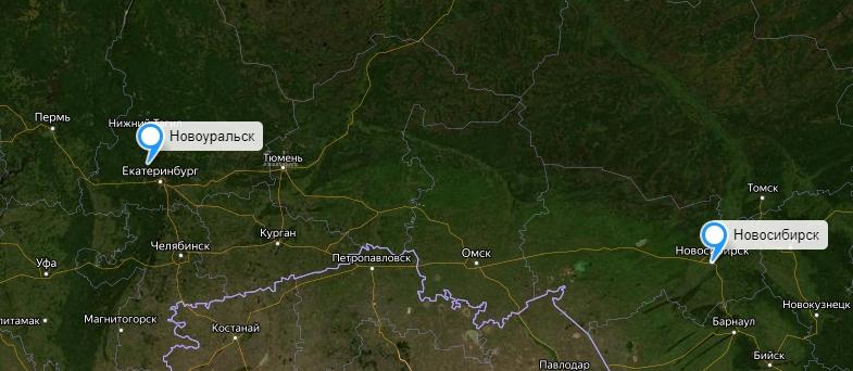 Грузоперевозки Новосибирск-Новоуральск
