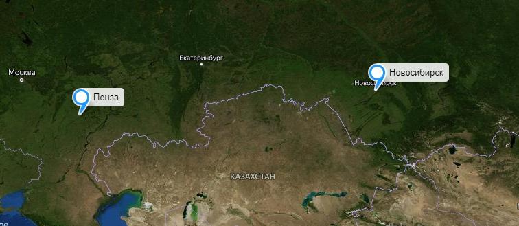 Грузоперевозки Новосибирск-Пенза