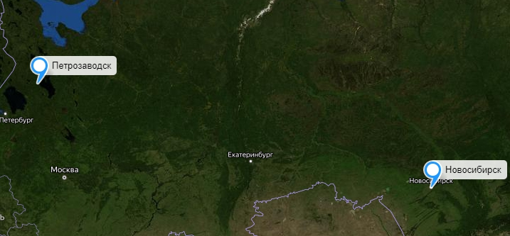 Грузоперевозки Новосибирск-Петрозаводск