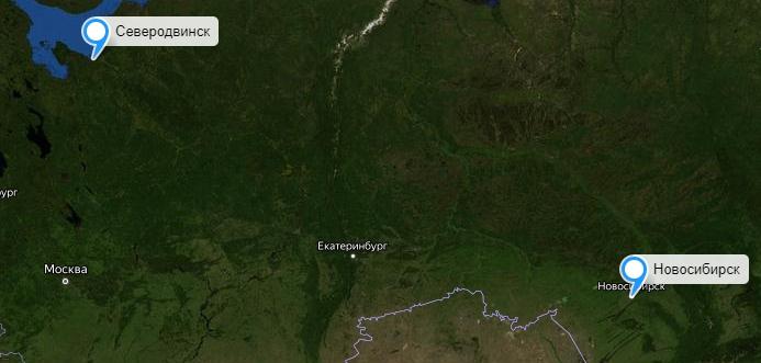 Грузоперевозки Новосибирск-Северодвинск