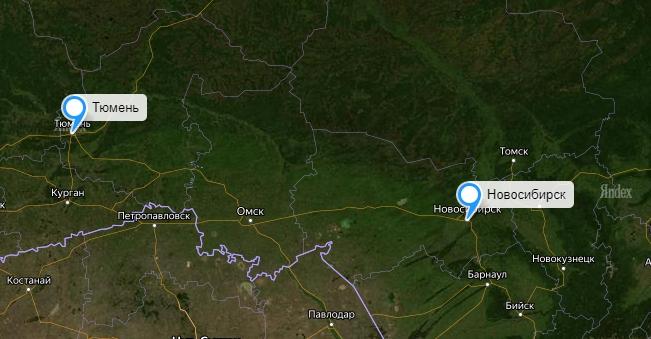 Грузоперевозки Новосибирск-Тюмень