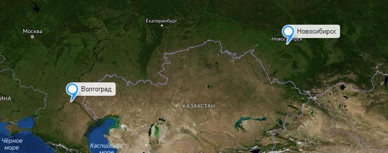 Грузоперевозки Новосибирск-Волгоград