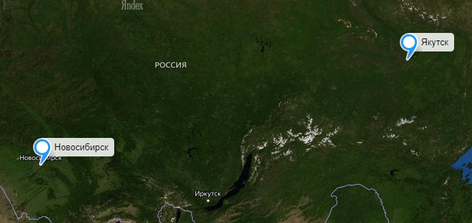 Грузоперевозки Новосибирск-Якутск